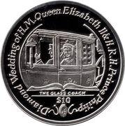 1 Dollar - Elizabeth II (The Glass Coach) – revers