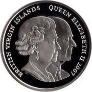 1 Dollar - Elizabeth II (Honeymoon at Birkhall) – avers