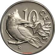 10 cents - Elizabeth II (2eme effigie) – revers