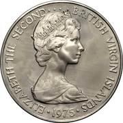 50 cents -  Elizabeth II (2eme effigie) – avers