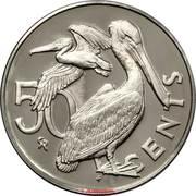 50 cents -  Elizabeth II (2eme effigie) – revers