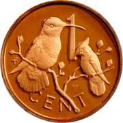 1 cent - Elizabeth II (2eme effigie) – revers