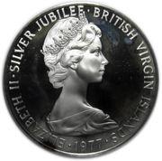 1 dollar - Elizabeth II (1ere effigie; Jubilé d'argent) – avers