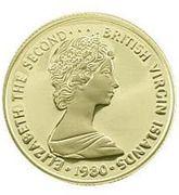 50 Dollars - Elizabeth II (Golden Dove of Christmas) – avers