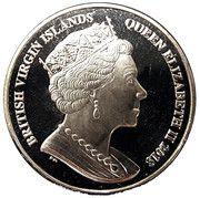 1 Dollar - Elizabeth II (The Wild Nature of the Archipelago) – avers