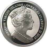 1 Dollar - Elizabeth II (Una & Lion - Reverse Frosted Bullion) – avers