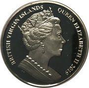 10 Dollars - Elizabeth II (Una & Lion) – avers