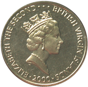 1 Dollar-Elizabeth II (Queen Mother's 100th Birthday) – avers
