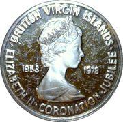 1 Cent - Elizabeth II (Coronation Jubilee) – avers