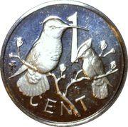 1 Cent - Elizabeth II (Coronation Jubilee) – revers