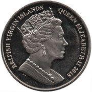 1 Dollar - Elizabeth II (The Clownfish) – avers