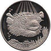 1 dollar Poisson porc-épic – revers