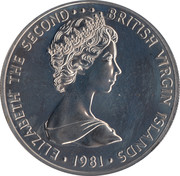 5 Dollars - Elizabeth II, set issue – avers