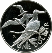 1 dollar - Elizabeth II (2eme effigie) – revers