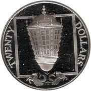 20 Dollars (lanterne) – revers