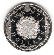 20 Dollars -Elizabeth II – revers
