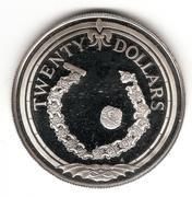 20 Dollars-Elizabeth II -  revers