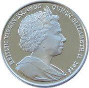 1 Dollar - Elizabeth II (4th portrait; Birth of Venus) – avers