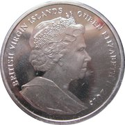 1 dollar Prince George (prince William) – avers