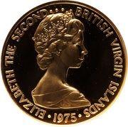 100 Dollars - Elizabeth II (2ème portrait) – avers