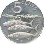 5 cents - Elizabeth II (3eme effigie) – revers