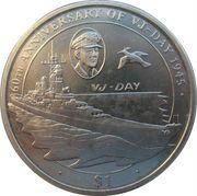 1 Dollar - Elizabeth II (VJ-Day) – revers