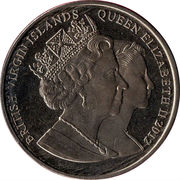 1 Dollar - Elizabeth II (Dressage) – avers