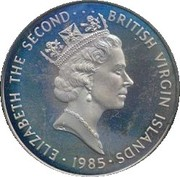 50 cents - Elizabeth II (3eme effigie) – avers