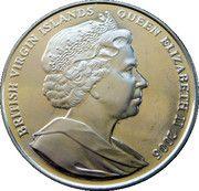 1 Dollar Elizabeth II 'Birthday Gretings' – avers