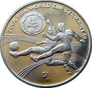 1 Dollar Elizabeth II '2006 World Cup' – revers