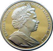 1 Dollar Elizabeth II 'King Edward I' – avers