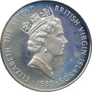 1 dollar - Elizabeth II (3eme effigie) – avers