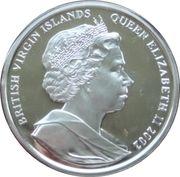 10 Dollars Elizabeth II La Reine Mère avec le Prince Charles – avers