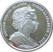10 Dollars Elizabeth II Le cercueil de la Reine Mère – avers