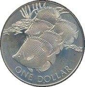 1 dollar - Elizabeth II (3eme effigie) – revers