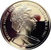 10 Dollars - Elizabeth II (Chariot) – avers