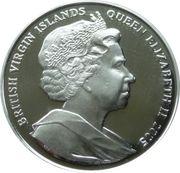 10 Dollars Elizabeth II 'Napoléon et Nelson' – avers