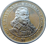 1 Dollar Elizabeth II 'King Charles I' – revers