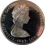 5 Dollars - Elizabeth II (2nd portrait) – avers