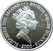 10 Dollars Elizabeth II 'La Reine Mère' – avers