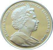 10 Dollars Elizabeth II 'King Canute' – avers