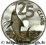 25 Cents argent – revers
