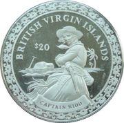 "20 Dollars Elizabeth II ""Capitaine Kidd"" – revers"