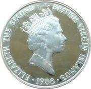 25 Dollars Elizabeth II 'Sablier' – avers