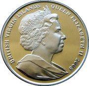 10 Dollars Elizabeth II  'King George III' – avers
