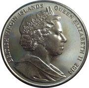 5 Dollars - Elizabeth II (Hippocampe) – avers