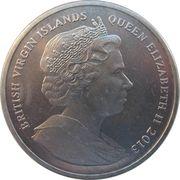1 Dollar - Elizabeth II (The Orient Express) – avers