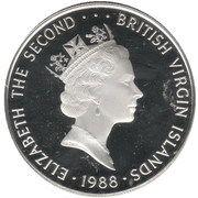 25 Dollars - Elizabeth II (Insignia of the Royal French Marines) – avers
