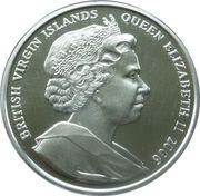 10 Dollars Elizabeth II (King George VI) – avers