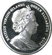 1 Dollar - Elizabeth II (Prince George) – avers